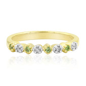 Russischer Demantoid-Goldring