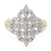 Diamant-Goldring