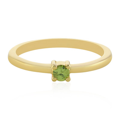 Demantoid-Silberring