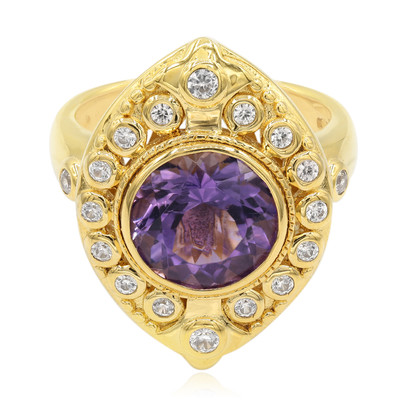 Sambia-Amethyst-Silberring (Memories by Vincent)