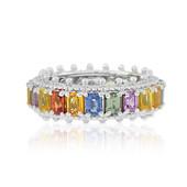 Saphir-Silberring (Dallas Prince Designs)