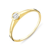 SI Diamant-Goldring