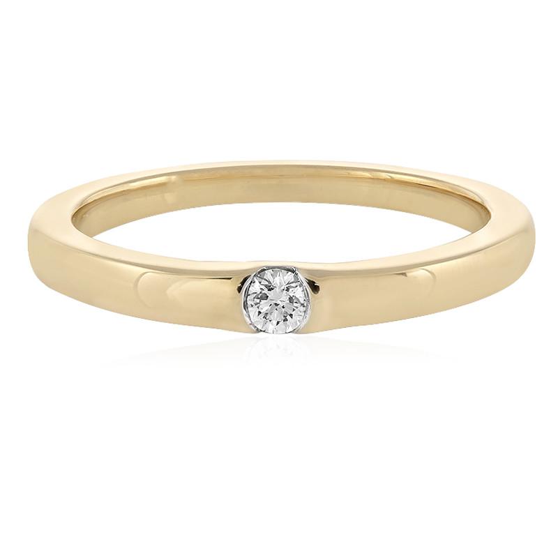 SI Diamant-Goldring (adamantes [!])
