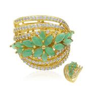 Smaragd-Silberring