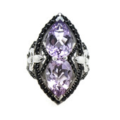 Amethyst-Silberring (Dallas Prince Designs)