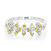 Fancy-Diamant-Herren-Silberring (Cavill)