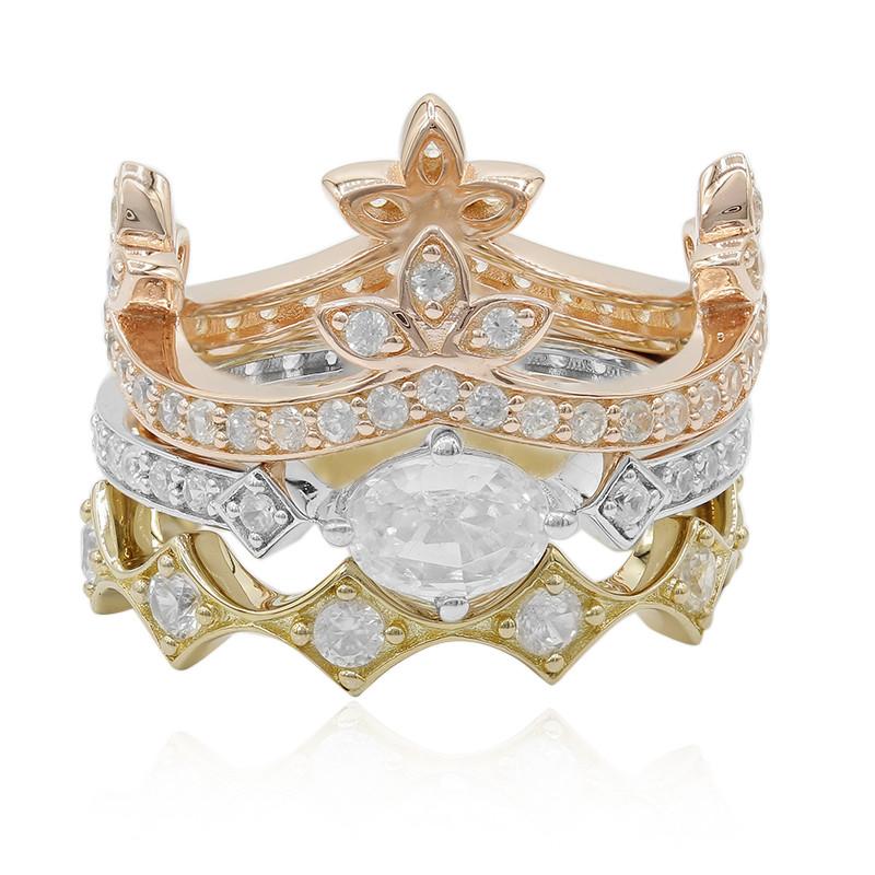 Zirkon-Silberring (Dallas Prince Designs)