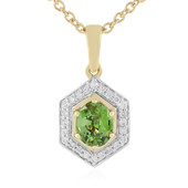 Madagaskar-Demantoid-Goldhalskette (AMAYANI)