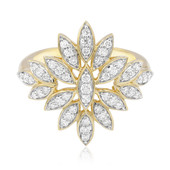 F Diamant-Goldring (LUCENT DIAMONDS)