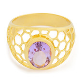 Lavendel-Amethyst-Silberring (MONOSONO COLLECTION)
