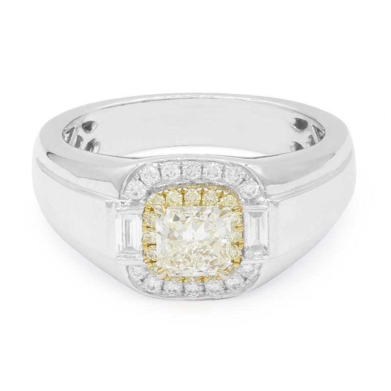 Gelber Diamant-Goldring
