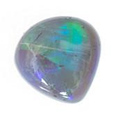 Lightning Ridge-Schwarzer Opal-Edelstein 0,44 ct,