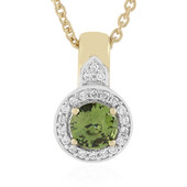 Madagaskar-Demantoid-Goldhalskette