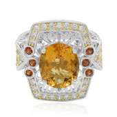 Mandarin-Citrin-Silberring (Dallas Prince Designs)