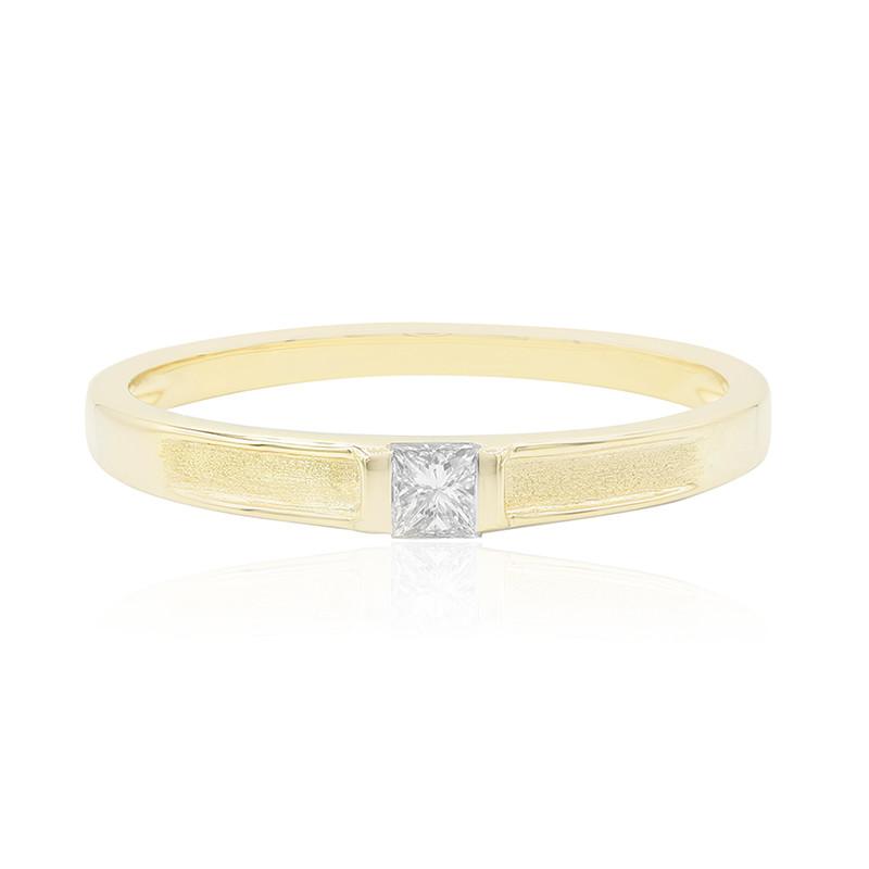SI1 (G) Diamant-Goldring (Annette)