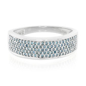 Fancy-Diamant-Silberring (Cavill)