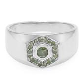 Fancy-Diamant-Herren-Silberring (Cavill)