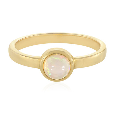 Welo-Opal-Silberring (MONOSONO COLLECTION)