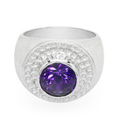 Sibirischer Amethyst-Silberring (MONOSONO COLLECTION)
