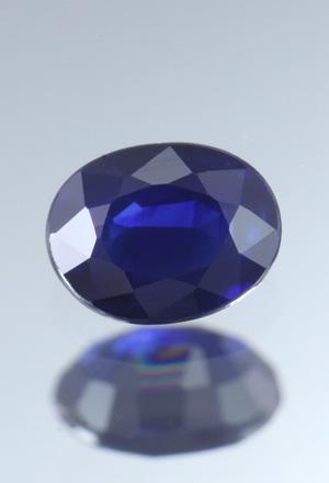 Blauer Saphir