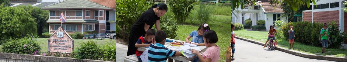 Das SOS-Kinderdorf in Bangpoo Thailand