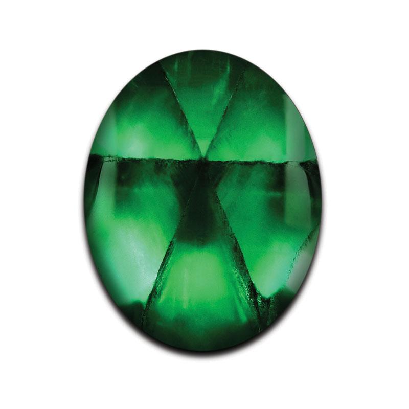 Trapiche-Smaragd